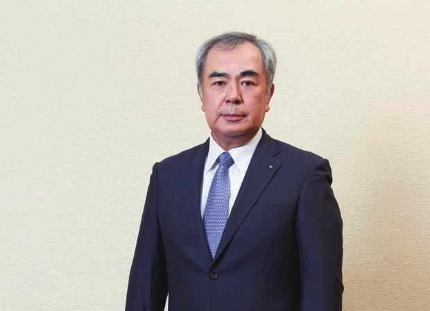 Interview with the President ステークホルダーの皆さまへ Kazuki Kataoka President and Representative Director 片岡和喜代表取締役社長 GO Polish Up Asahi We will implement the reforms