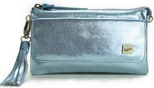 METALLIC POCHETTE WALLET