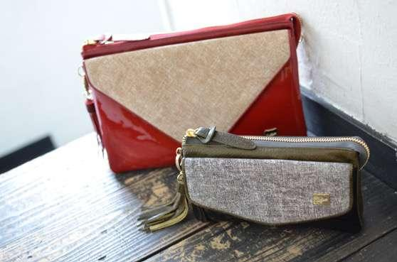 Navy denim DENIM POCHETTE CLUTCH PO-159DM 18,000-(+tax)