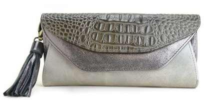 MIX CROCO POCHETTE WALLET W