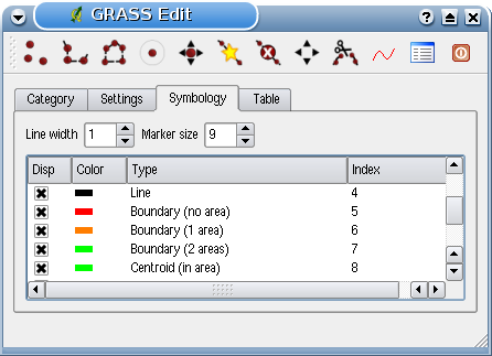 : Creating an additional GRASS layer with QGIS If you would like to add more layers to your dataset, just add a new number in the Field (layer) entry box and press return.