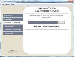 User Experience ユーザー 体 験 open secure Welcome To The Café Wireless Network 3 端 末