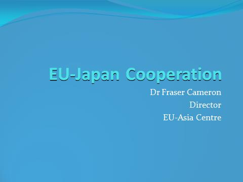 Wrap-up Session: Japan-Europe