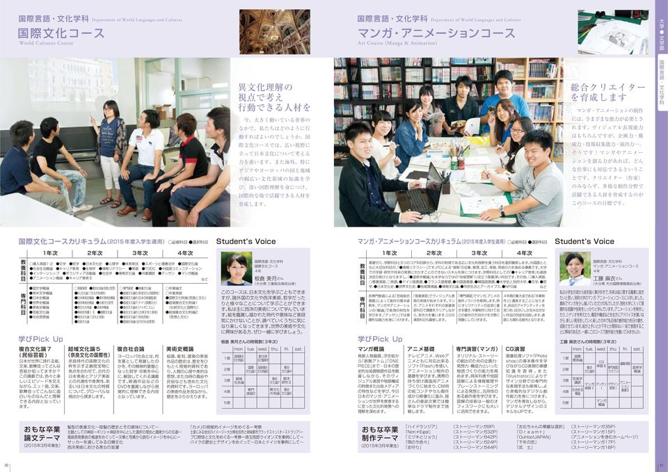 Department of  Art Course (Manga &