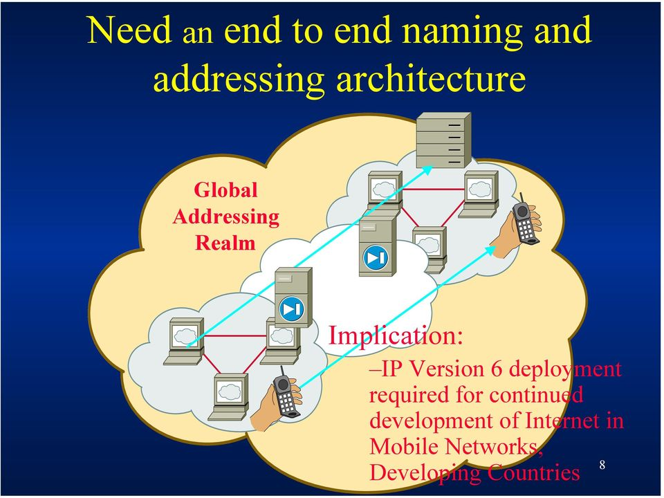 IP Version 6 deployment required for continued