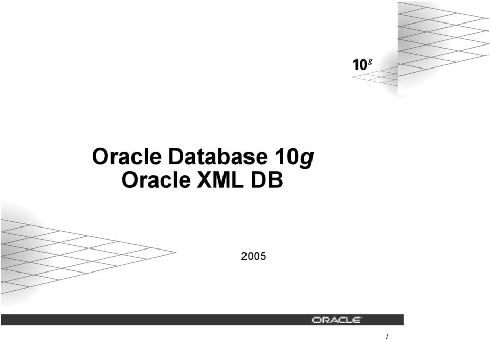 Database 10g Release 2 Copyright Oracle