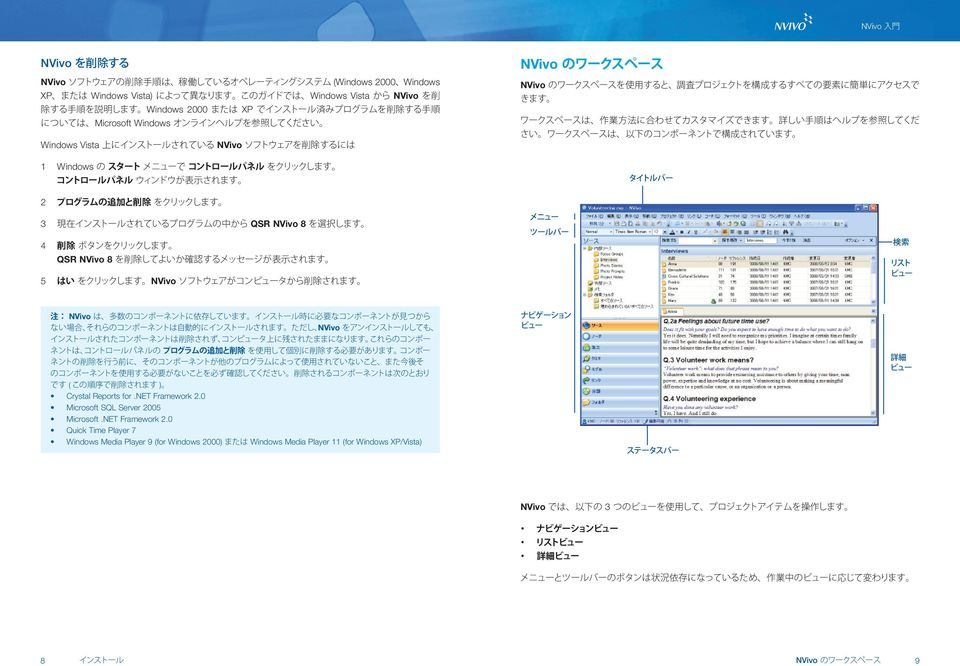 Crystal Reports for.net Framework 2.0 Microsoft SQL Server 2005 Microsoft.NET Framework 2.