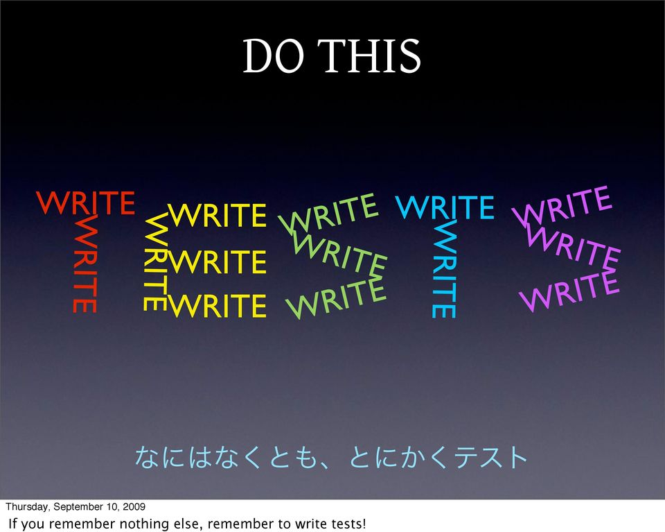 WRITE WRITE WRITE WRITE If you