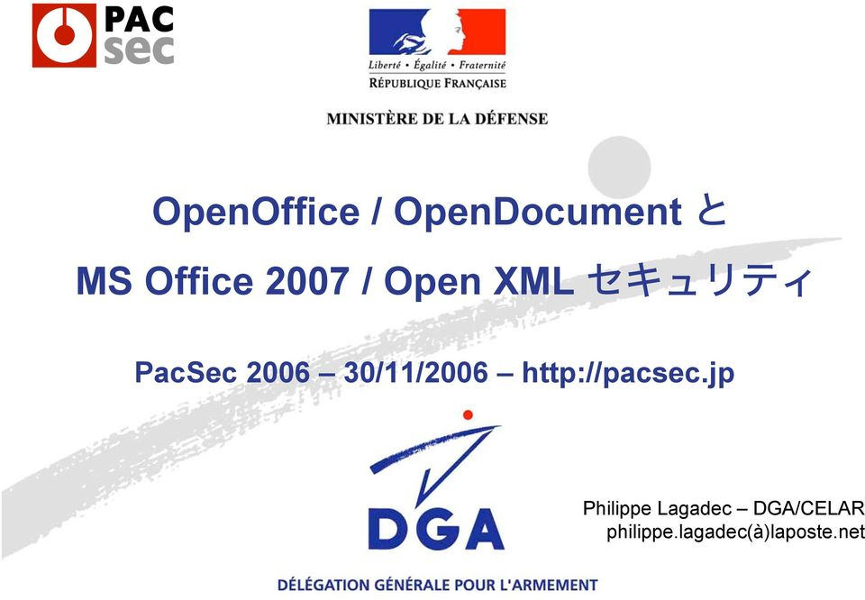 30/11/2006 http://pacsec.