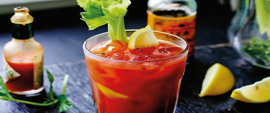 Les signatures St. Regis Premium* Top Shelf** St. Regis Bloody Mary Ritual Very Amazing Drink!