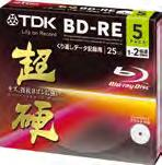 PC Blu-ray Disc TM BD-RE 25GB 1 2 倍速対応 Blu-ray Disc