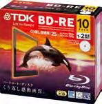 Blu-ray Disc TM BD-RE 25