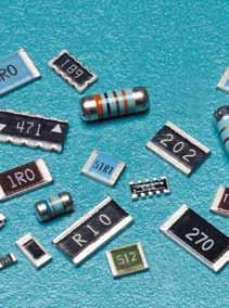 Surface Mount Resistors & Arrays Flat chip resistors and arrays include general purpose, high precision, pulse and surge, high voltage, high heat, anti sulfuration and zero ohm types for applications