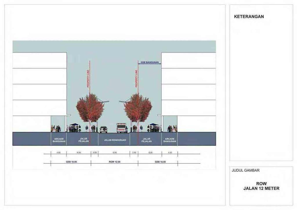 2.38 Design Guidelines for Dukuh Atas District 2008 (7) ( 出典 :Panduan Rancang Kota Kawasan Dukuh Atas