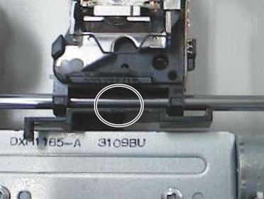 CD-S CD-S When installing a new Stepping Motor: Before installing a new stepping motor, apply grease to its screw.