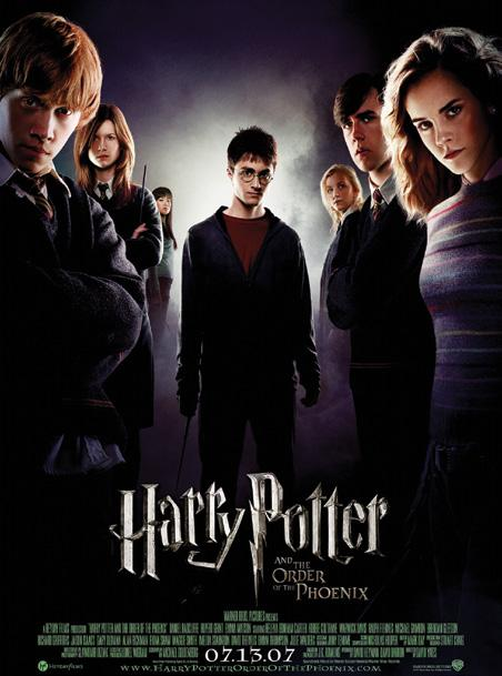 MOVIES HOLLYWOOD MOVIES HARRY POTTER & THE ORDER OF PHOENIX HIDDEN FIGURES Genre: Family/Adventure