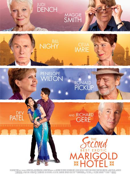 THE SECOND BEST EXOTIC MARIGOLD HOTEL THE INTERN Genre: Drama/Comedy Runtime: 122 minutes