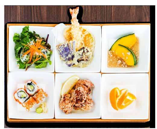 LUNCH SET MENU All Bento Sets are accompanied with Chef s Selection Maki or Japanese Niigata