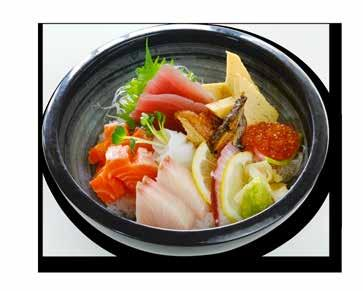 バラちらし丼 Bara Chirashi Don Chef s selection of assorted