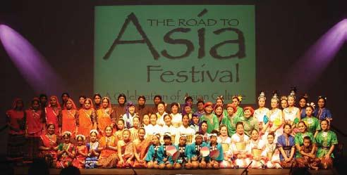 diversity of Asian culture.