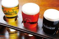 BEFORE 9 Located in Furukawa-cho Shopping Arcade, which is called Nishiki Market East, visitors can enjoy draft beers with distinctive tastes at this specialty shop.