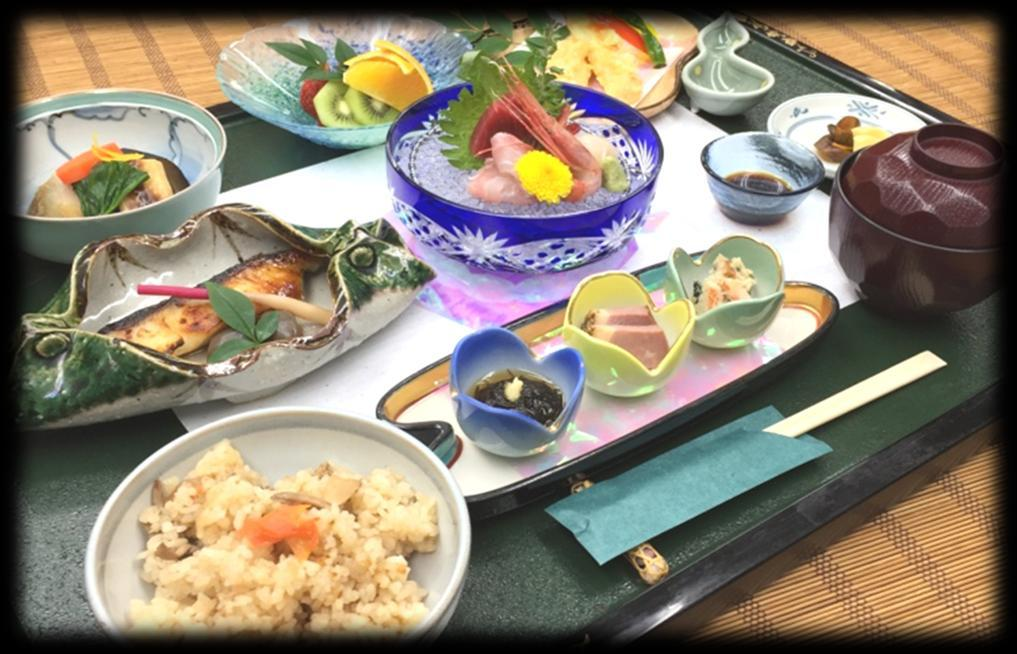 originaly refers to the Japanese traditional meal, which is served at the tea celemony.