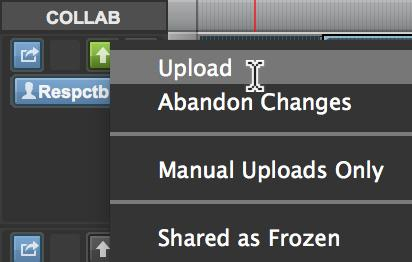 Upload Track Changes Upload Track Changes Download Track Changes CommandMac Control