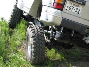 Your Pajero will become to the strongest vehicle on the off road when you install both 6 inch Body Lift Kit Pro-Link Kit and FOX Shock Mount Kit.