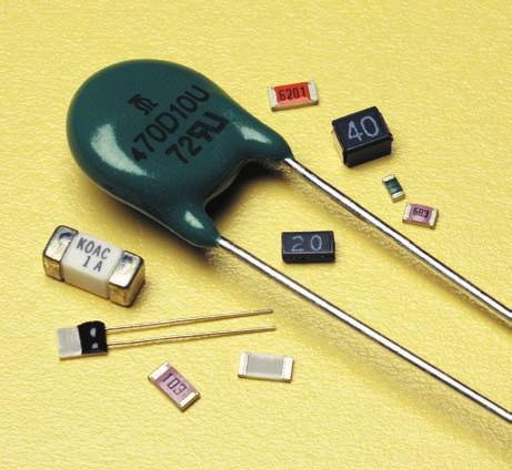 Thermal Sensors and Circuit Protection In addition to our flat chip resistors we offer a complete line of circuit protection products including thermistors, platinum sensors, chip and ceramic case