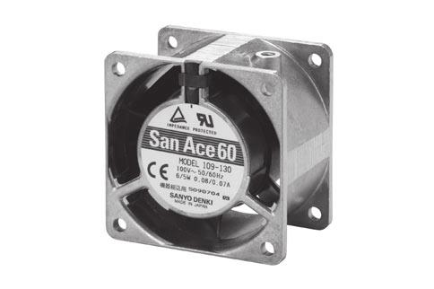 6.5 5.3 4-4.5 AC Fan 6mm sq. General Specifications 6.5 5.3 Rotating Direction 5.
