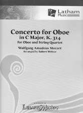 R. ウィナーによるオーボエと弦楽四重奏のための編曲 Mozart,W.A.; Concerto for Oboe in C Major, K. 314, for Oboe and String Quartet (R.